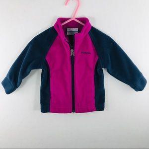 Columbia Baby Girt Size 6-12 Months Purple Jacket
